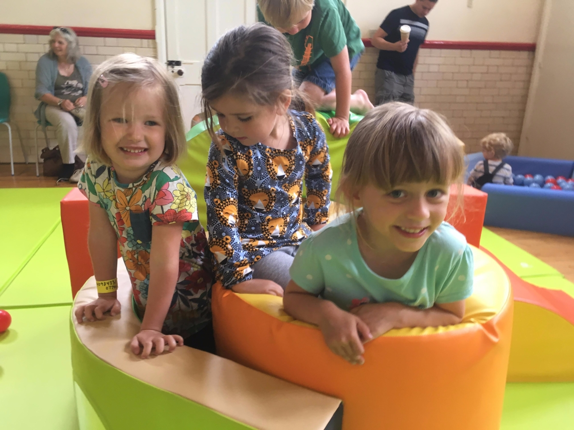 Children at soft play
